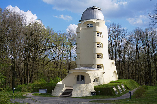 The Solar Observatory Einstein Tower on the Telegrafenberg in Potsdam. Photo: R. Arlt / Leibniz Institute for Astrophysics Potsdam (AIP)