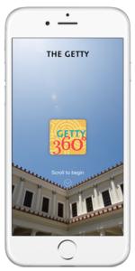 Getty360 app