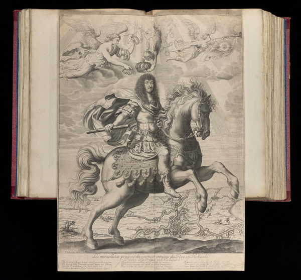 Equestrian Portrait of Louis XIV / Colin