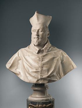 Portrait of Cardinal Scipione Borghese / Bernini