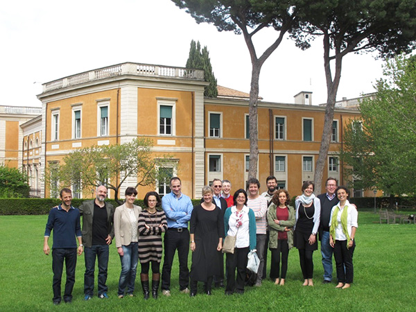 Scholars at the American Academy in Rome