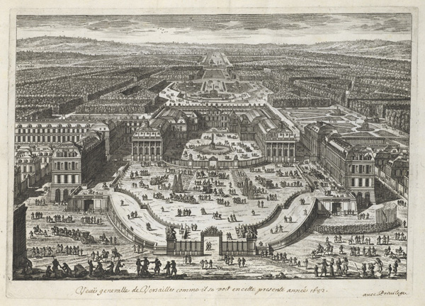 A General View of Versailles as Seen in the Present Year 1682