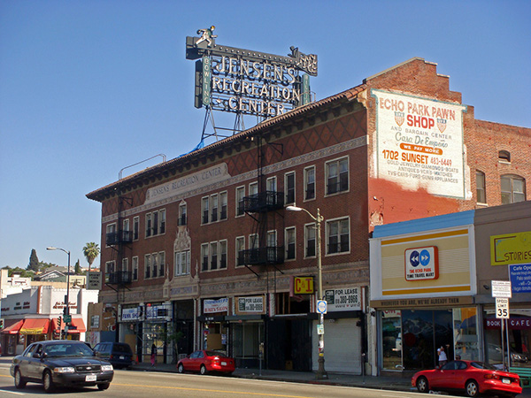 Jensen's Recreation Center in Echo Park