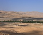 The cave temples of Dunhuang are surrounded by austere desert