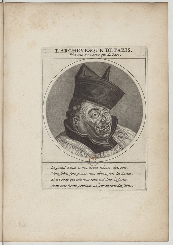 The Archbishop of Paris / Cornelis Dusart or Jacob Gole