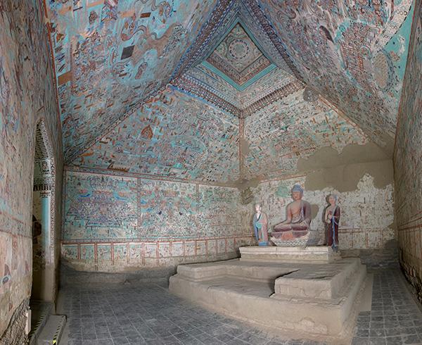 Interior of Cave 85