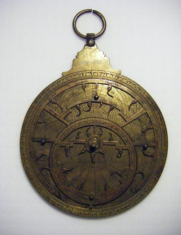 Astrolabe, Islamic, 15.6 centimeters. The British Museum. © The Trustees of the British Museum
