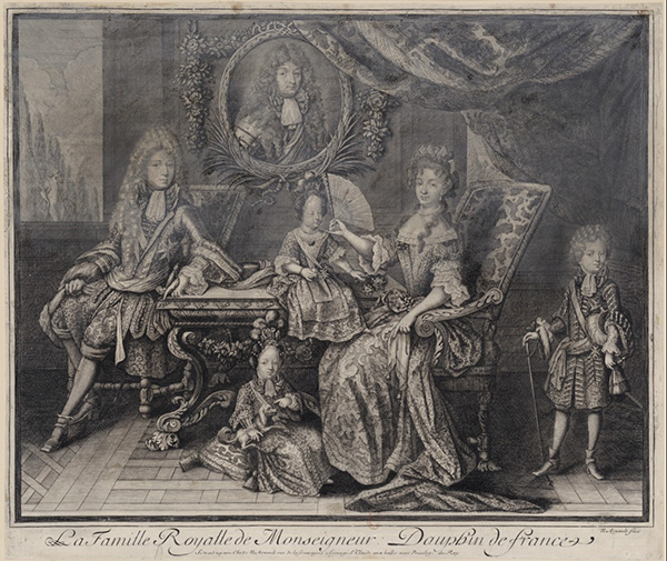 Portrait of the Family of the Grand Dauphin / Nicolas Arnoult