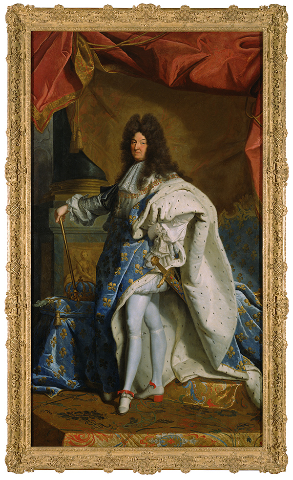 Portrait of Louis XIV / after Hyacinthe Rigaud