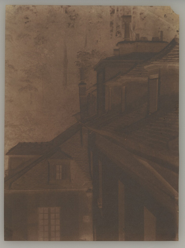Rooftops at Sevres / Henri-Victor Regnault
