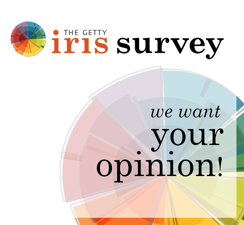 Help Us Improve the Getty Iris