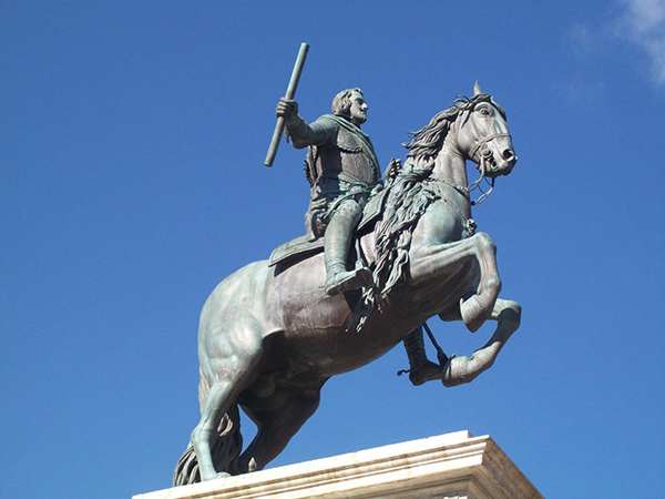 Equestrian Statue of Philip IV of Spain / Pietro Tacca