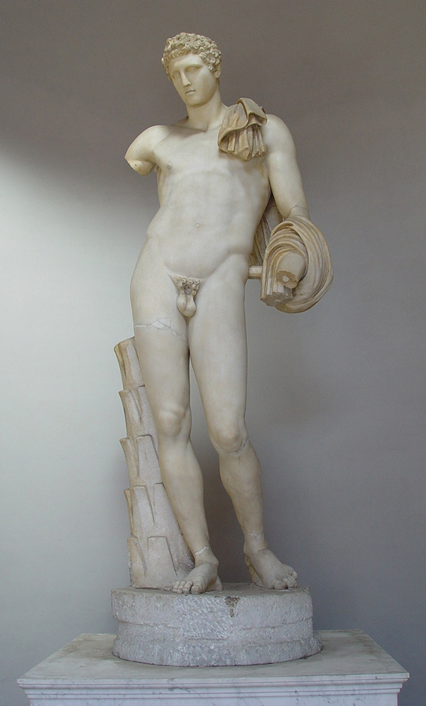 Marble Belvedere Antinous / Roman