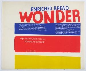enriched bread / Corita Kent