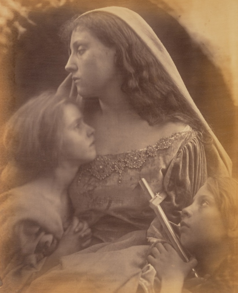 Holy Family, Julia Margaret Cameron, 1872. The J. Paul Getty Museum, 84.XM.443.19