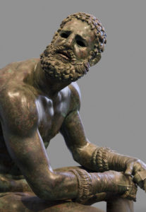 Detail of the Seated Boxer
