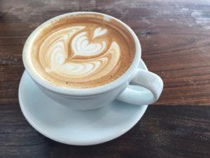 Latte art inspired by Vincent van Gogh