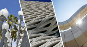 LACMA, The Broad, and The Getty