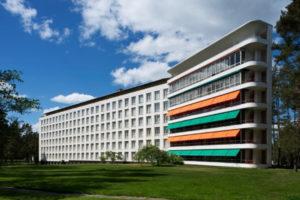 Paimio Sanatorium, patients' wing and solarium terraces