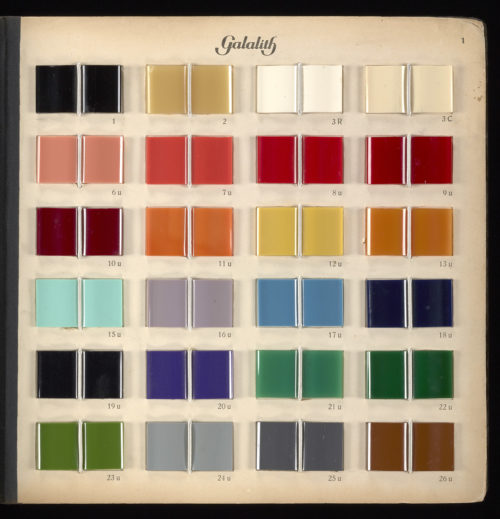 Galalith: Alchemy in the Age of Plastic
