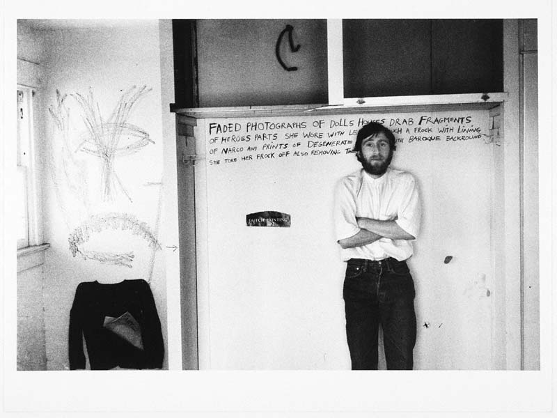 Wallace Berman In An Abandoned Building 187 Pacific Standard