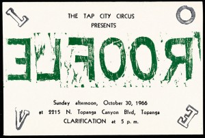 """Announcement, """"Roofle"""" at Tap City Circus"""