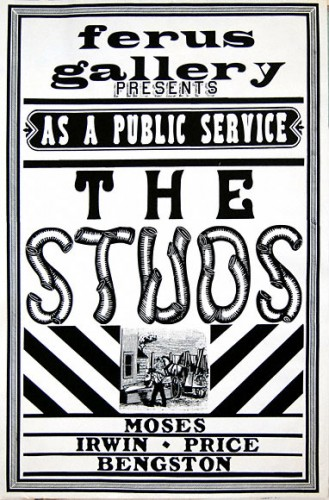Poster for The Studs group exhibition