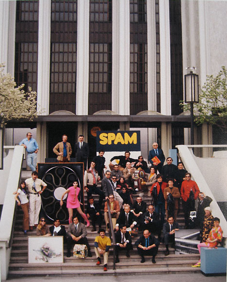 Los Angeles artists at Culture Day at LACMA, 1968