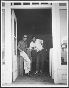 Dean Stockwell and Wallace Berman