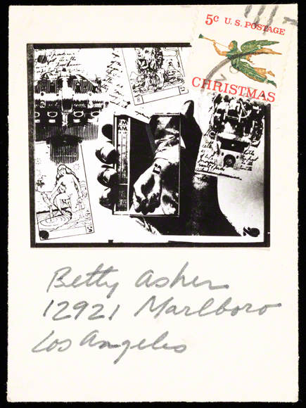 Card to Betty Asher